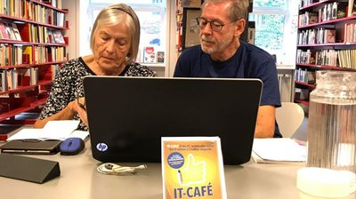 IT-CAFE nu med BOOKING