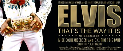 Elvis 85 Celebration med C.C Riders Big Band