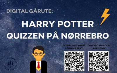 Digital gårute: Harry Potter Quizzen på Nørrebro